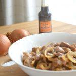 Schouderkarbonade met Worcestershire saus (c) mevryan.com, Aziatische recepten