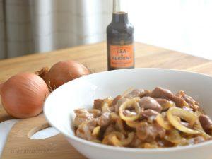 Schouderkarbonade met Worcestershire saus