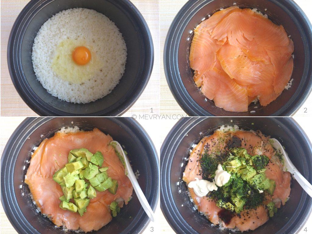 Recept met sushirijst in de rijstkoker (c)