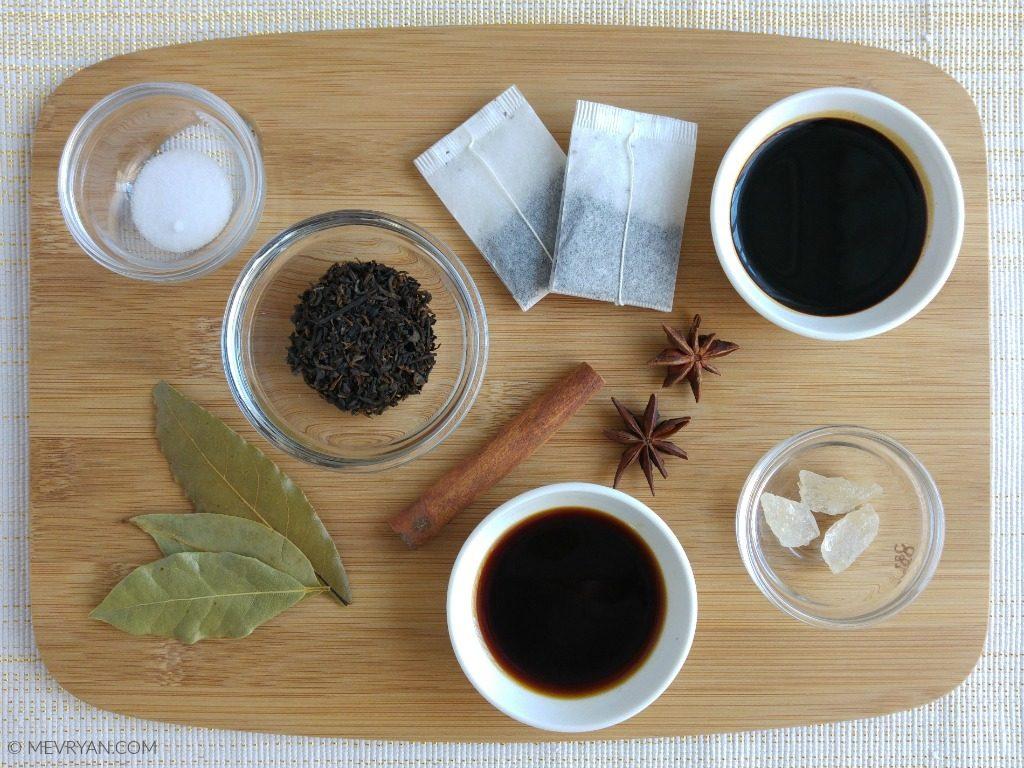 Chinese thee eieren_ingrediënten (c)
