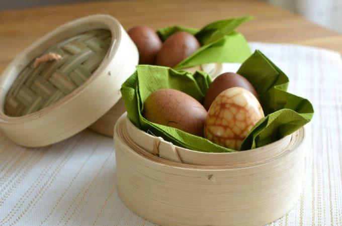 Paasontbijt met Chinese thee eieren