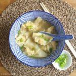 Chinese wonton soep ©mevryan.com, Aziatische recepten
