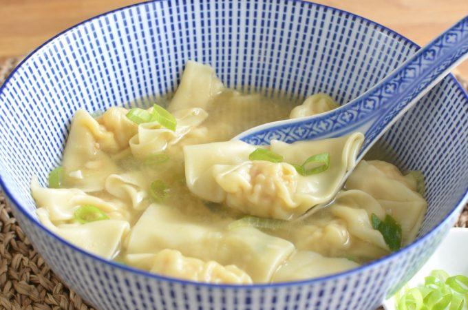 Wonton soep maken als mijn moeder
