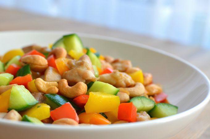 Recept kip met cashewnoten (腰果 鸡丁)