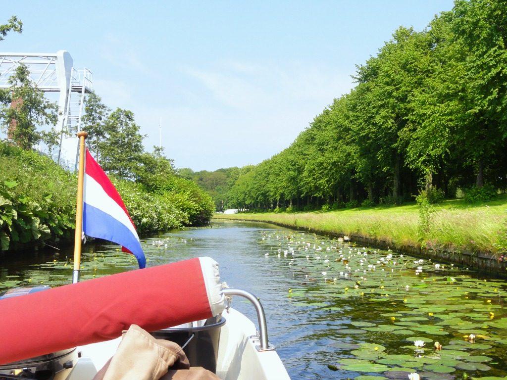 Foto Willemsvaart - boottocht