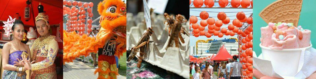 Foto collage Azië aan de Maas 2017 Food blog © MEVRYAN.COM, Aziatisch koken