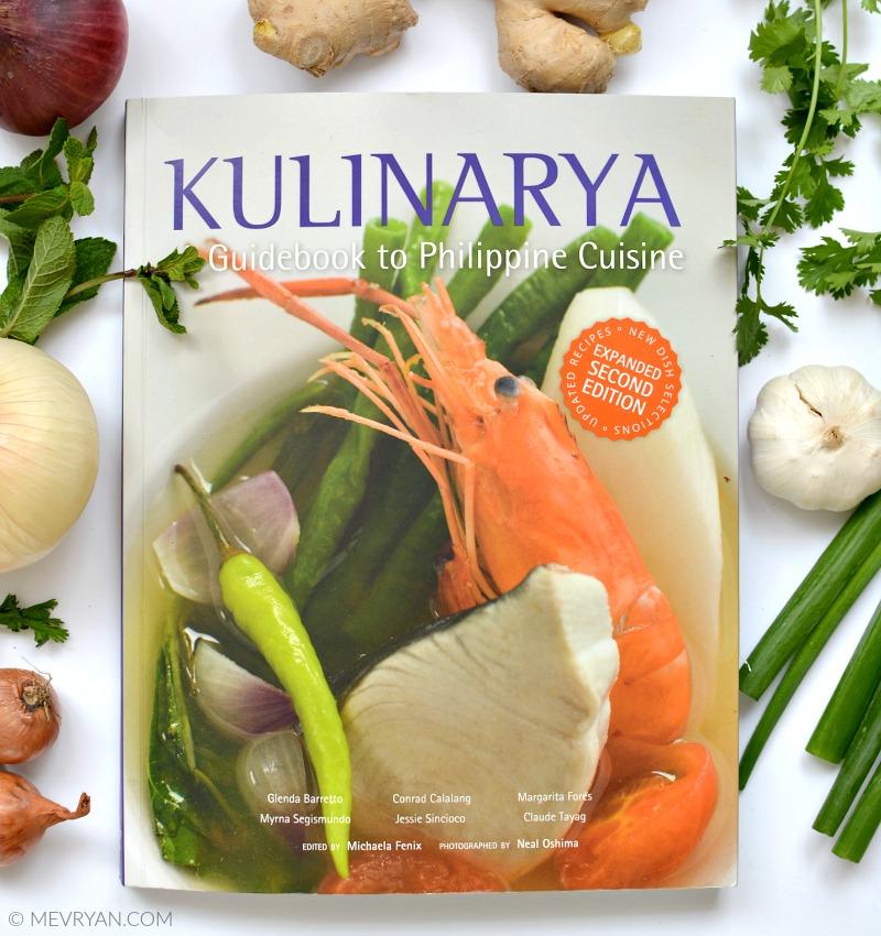 Foto kookboek Kulinarya, guidebook to Philippine cuisine. © MEVRYAN.COM