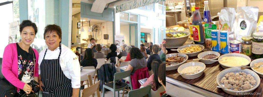 Fotocollage chef Myrna Segismundo © MEVRYAN.COM