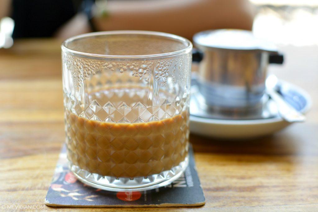 Foto Vietnamese koffie, Noo.Me noodle bar Rotterdam © MEVRYAN.COM