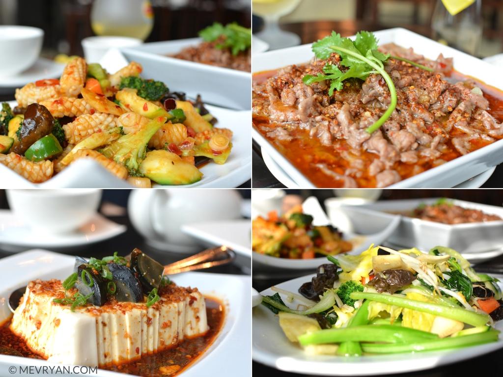 Foto gerechten Sichuan restaurant SānSān, Rotterdam. Food blog © MEVRYAN.COM