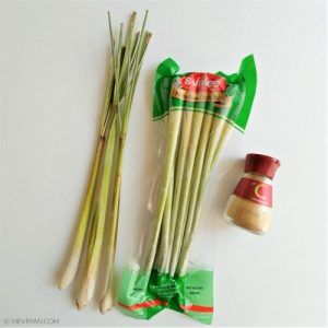 Foto Citroengras, Sereh - Food blog © MEVRYAN.COM, Aziatisch koken