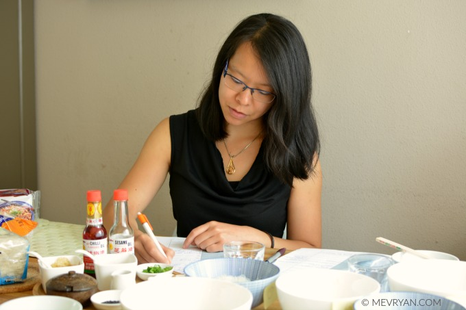Portret Liyen Siaw, Food blog © MEVRYAN.COM