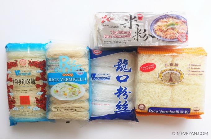 Foto producten smaaktest vermicelli - Food blog © MEVRYAN.COM
