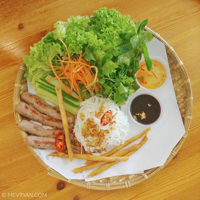 Foto ingrediënten voor Vietnamese springrolls