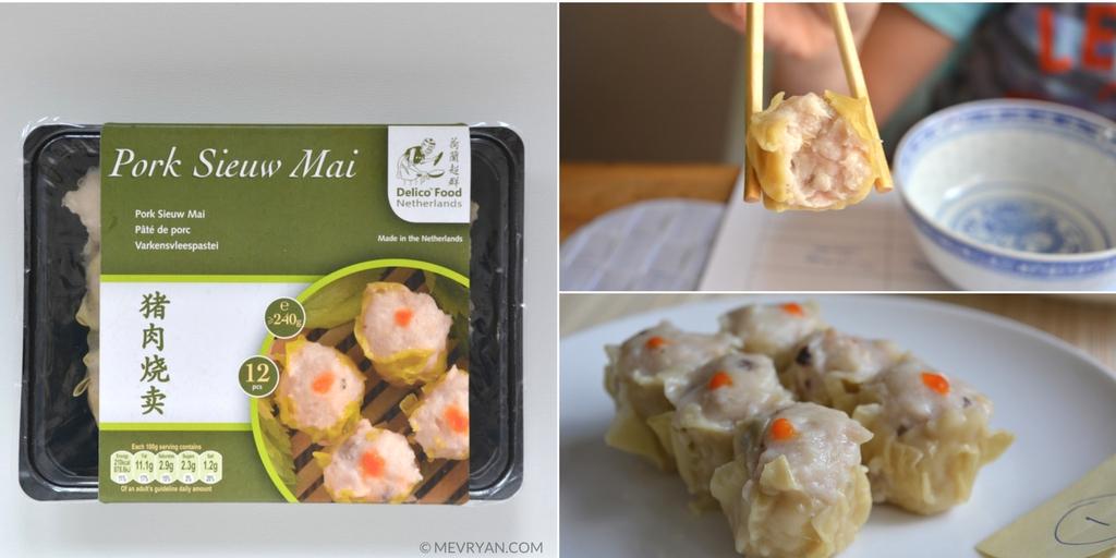 Foto siu mai dim sum van Delico Food uit Nederland. © MEVRYAN.COM